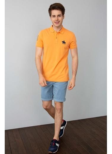 U.S.Polo Assn. Polo Yaka Tişört Oranj